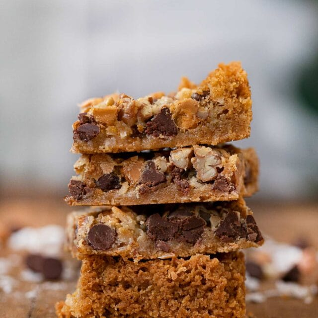 Seven Layer Bars in stack