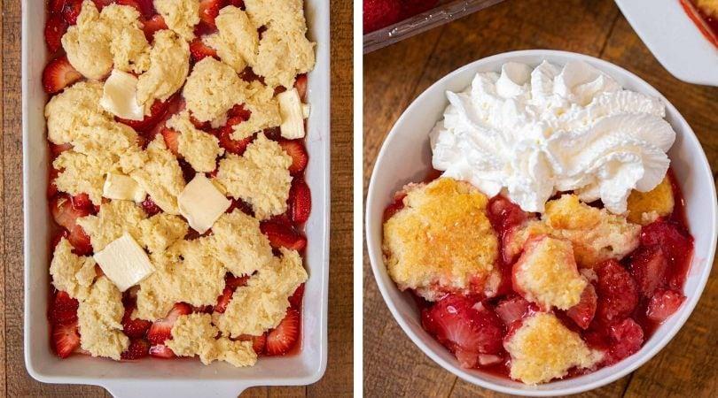 Photo of Easy Strawberry Cobbler Recipe – Dinner, then Dessert