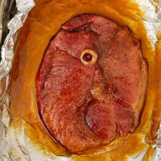 Cropped photo of Brown Sugar Ham Steak