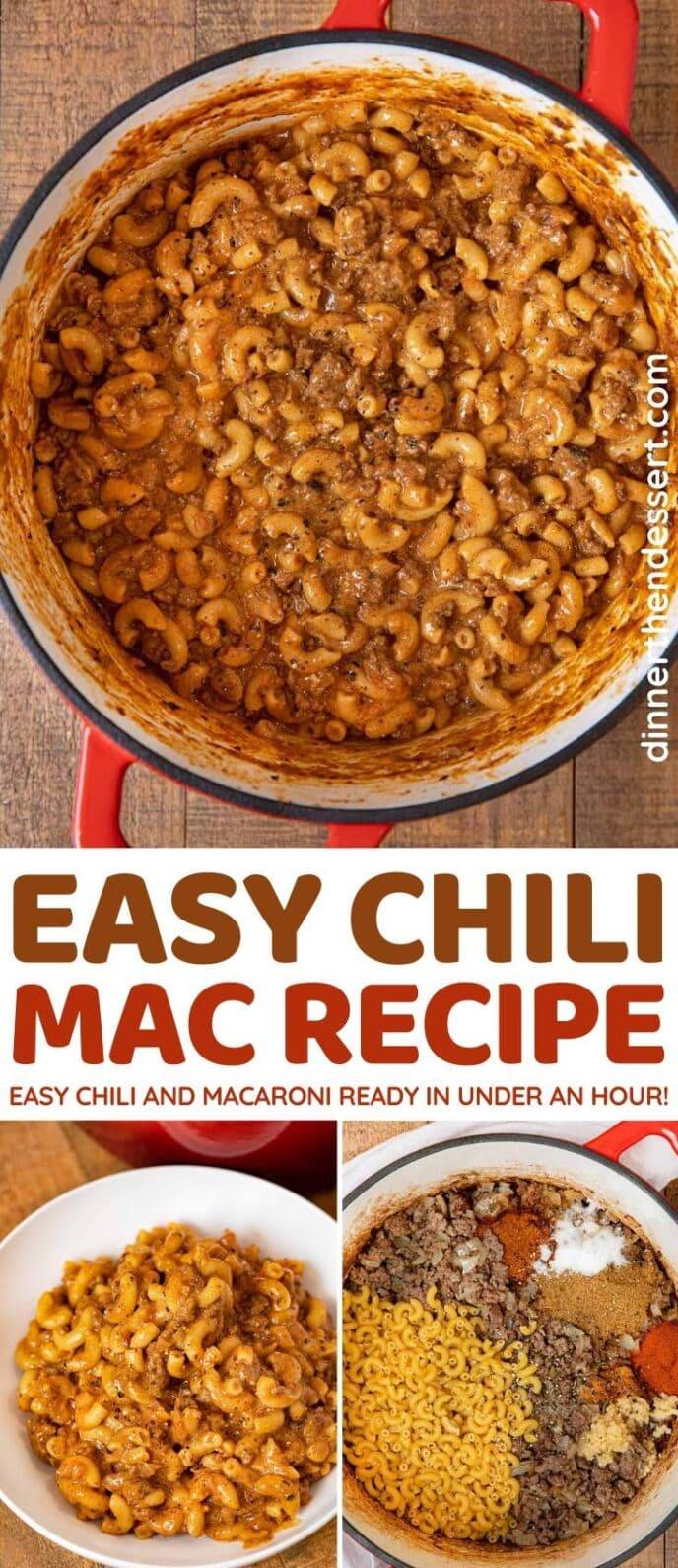Chili Mac collage