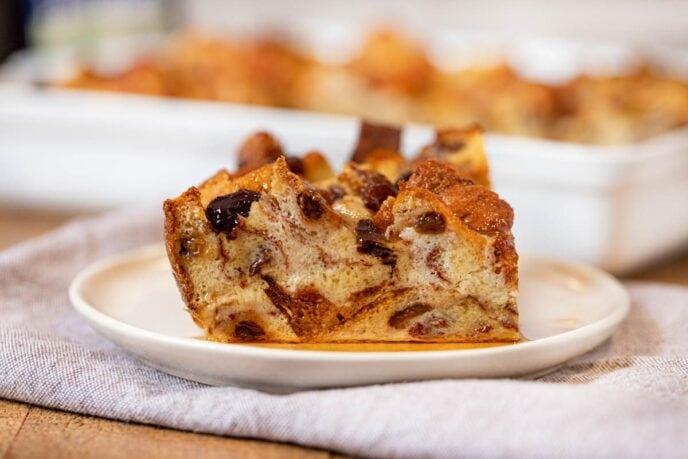 Cinnamon Raisin Breakfast Bake