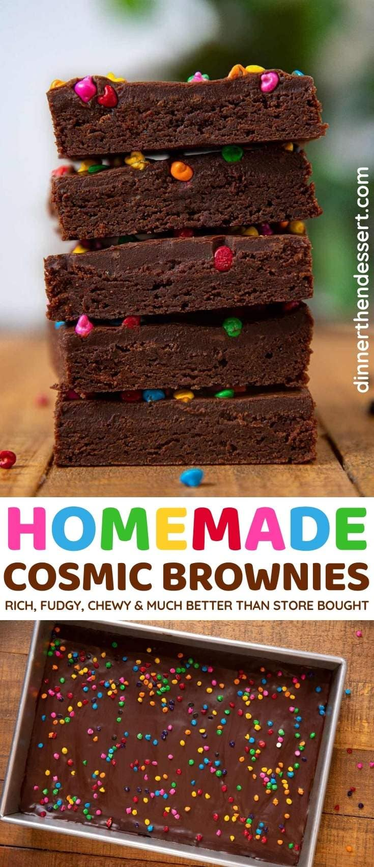 Cosmic Brownies collage