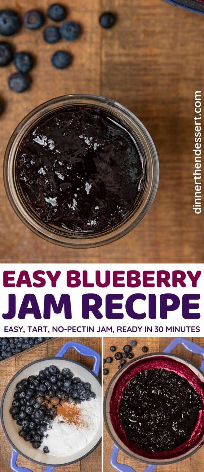 Blueberry Jam collage