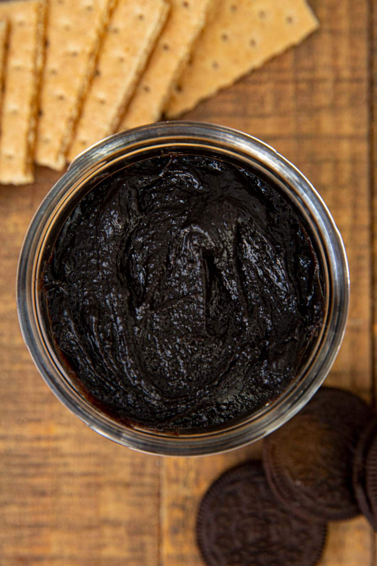Top down photo of Oreo Cookie Butter
