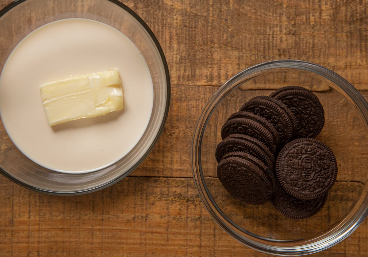 Oreo Cookie Butter ingredients