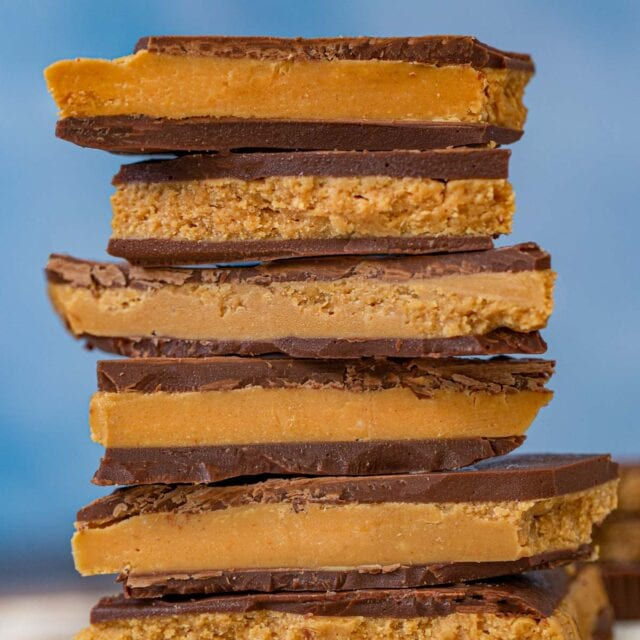 Stack of Reese's Bark