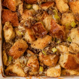 Sausage and Herb Stuffing cropped