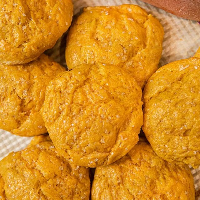 Sweet Potato Biscuits in a pile