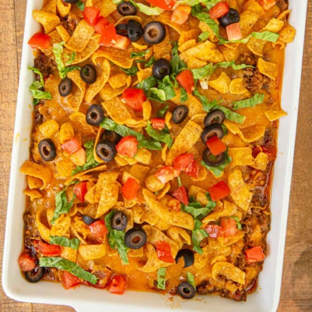 cropped photo of Taco Casserole