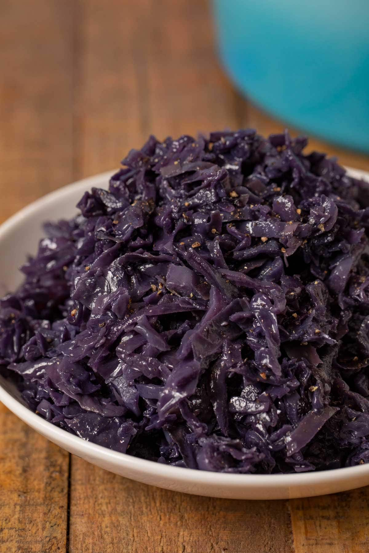 Braised Cabbage in bowl