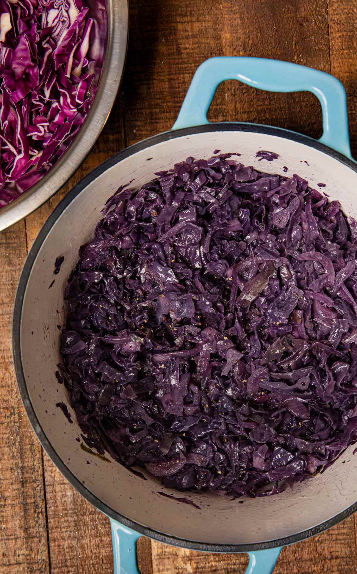 Braised Cabbage in pot