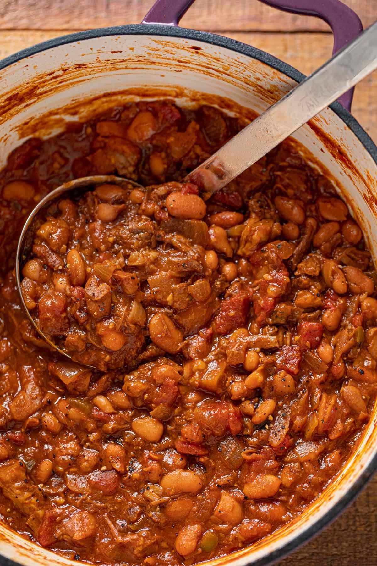 Brisket Beer And Bean Chili Recipe Leftover Recipe Dinner Then Dessert