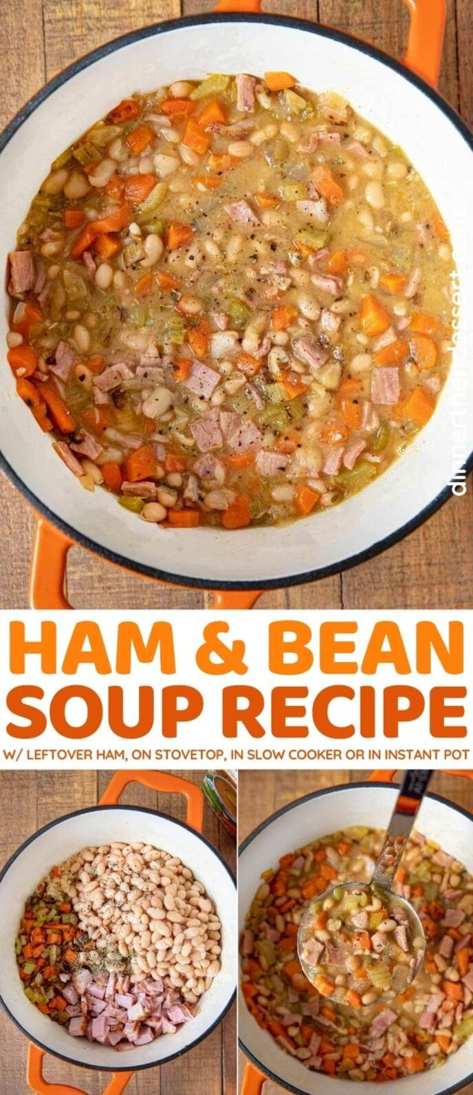 Ham and Bean Soup collage