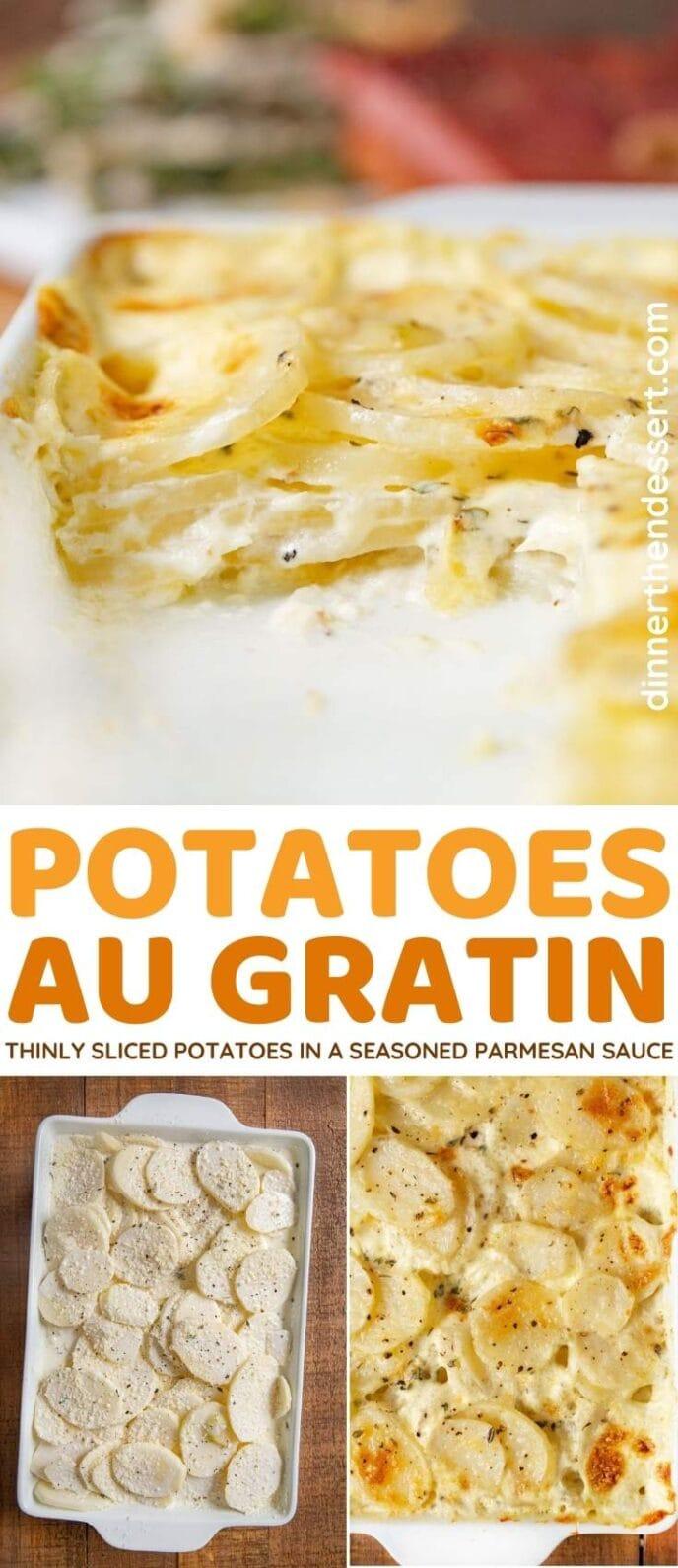 Potatoes Au Gratin collage