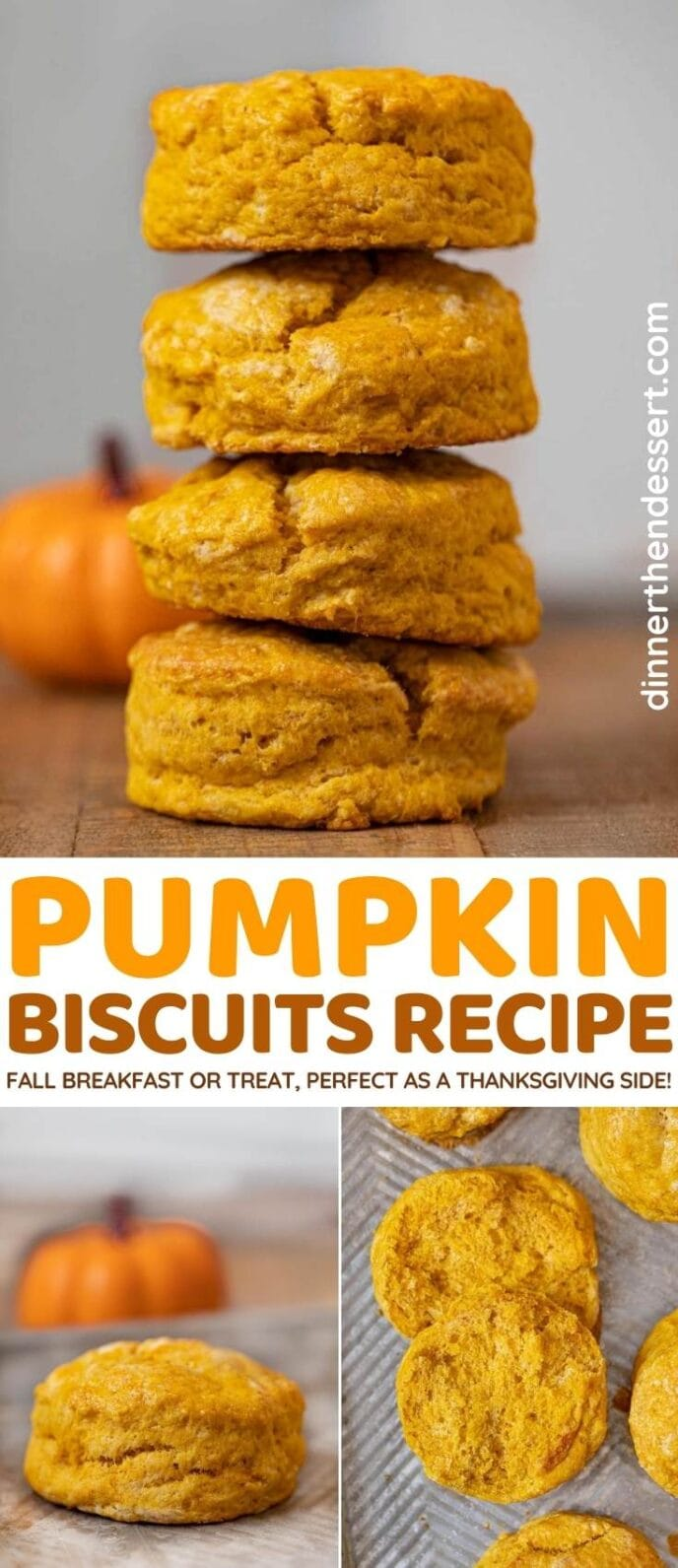 Pumpkin Biscuits collage