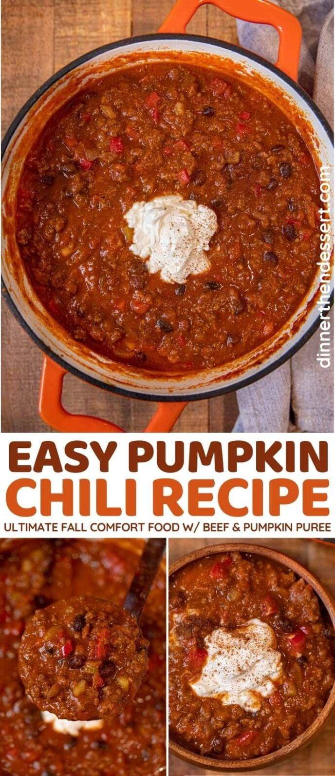 Pumpkin Chili collage
