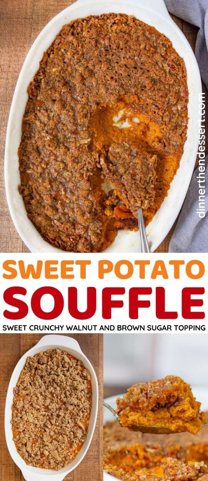 Sweet Potato Souffle collage