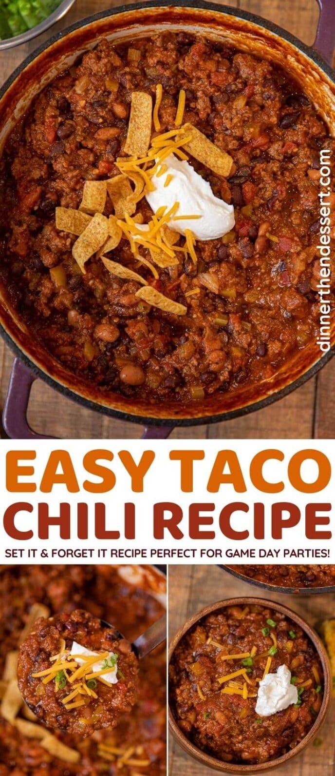 Taco Chili collage