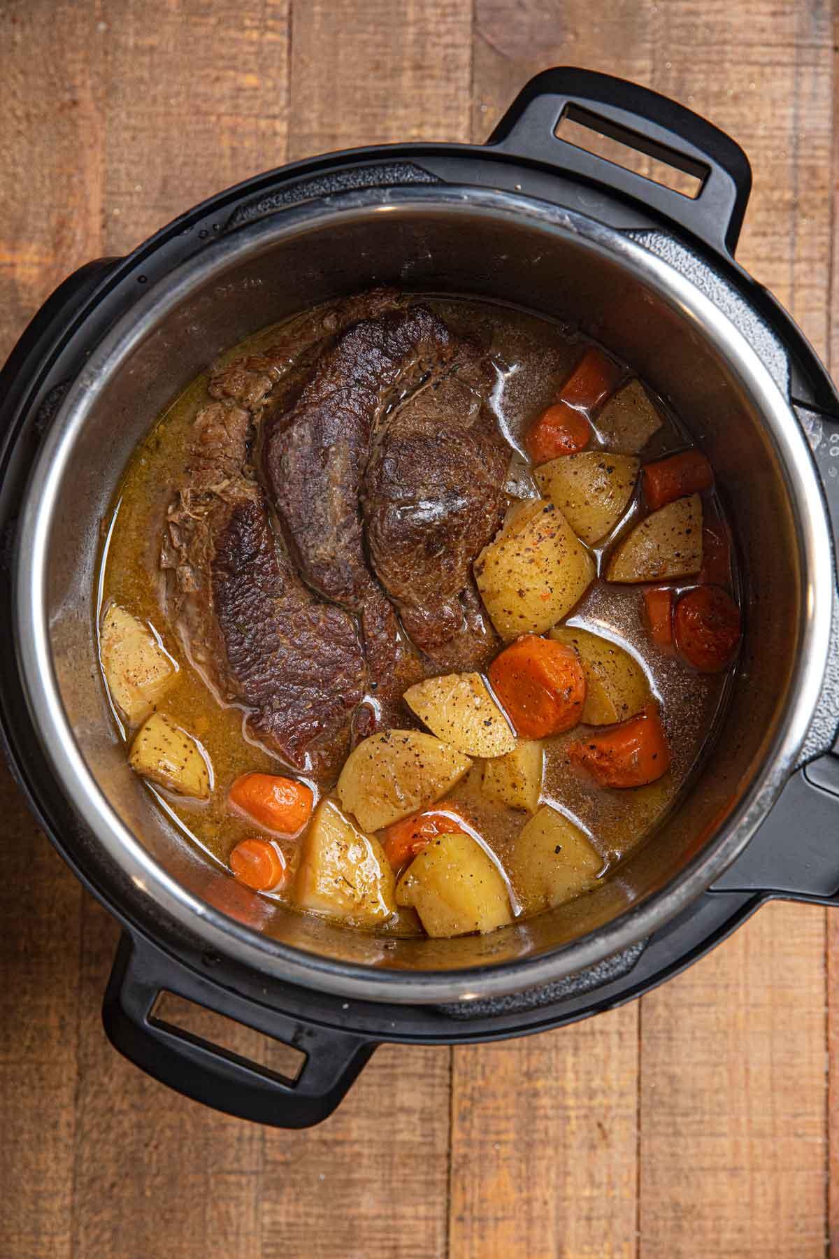 Instant Pot Beef Pot Roast Recipe Dinner Then Dessert