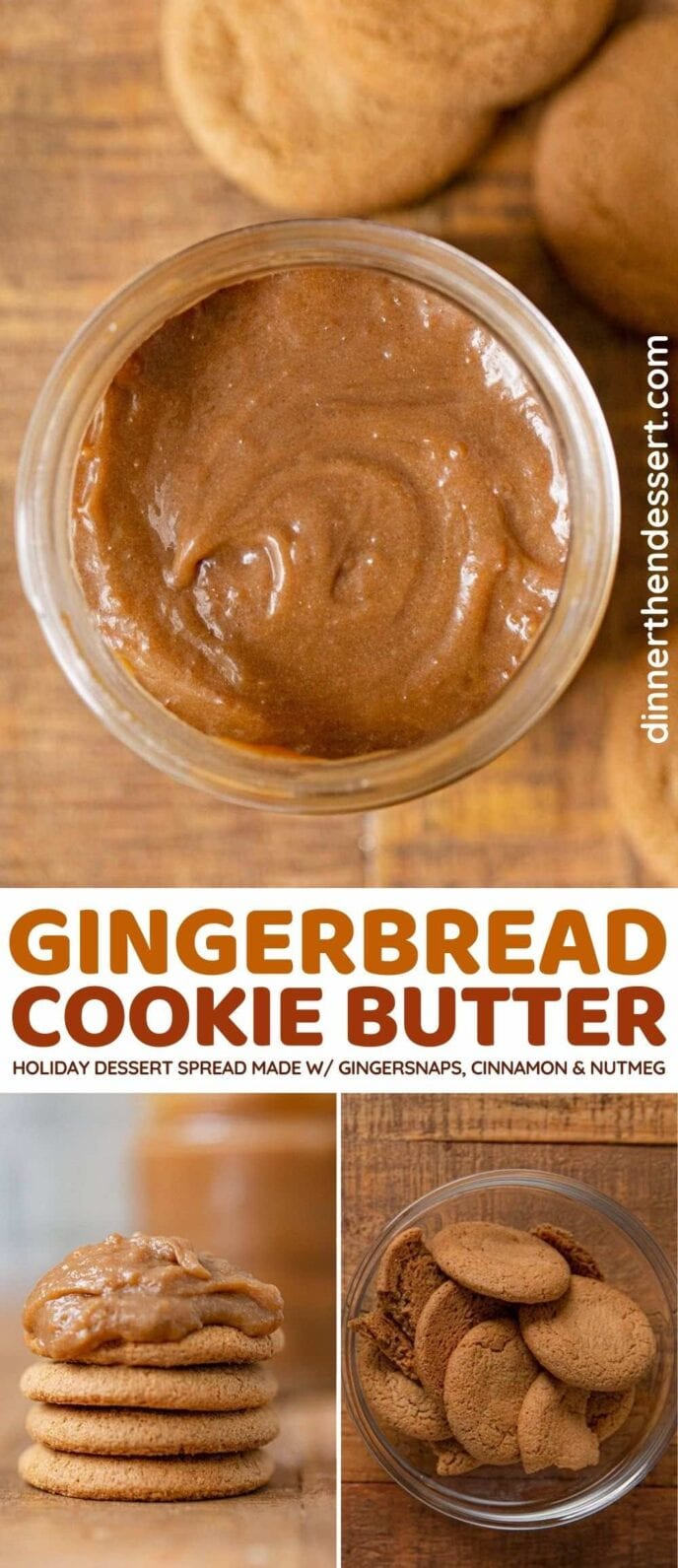 Gingerbread Cookie Butter recipe