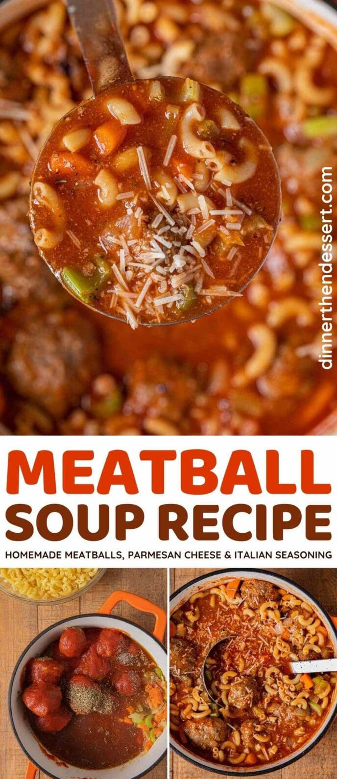 Meatball Soup collage