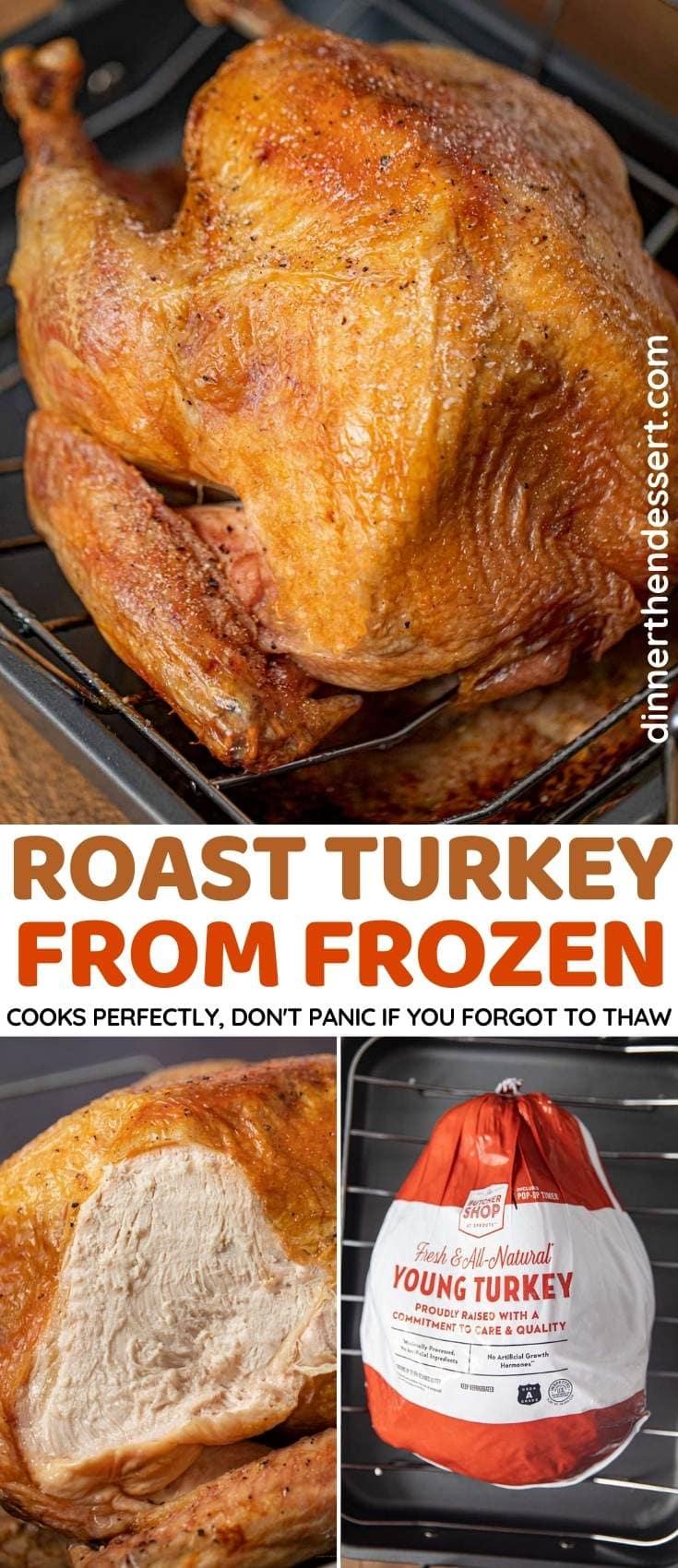 Roast Turkey from Frozen collage