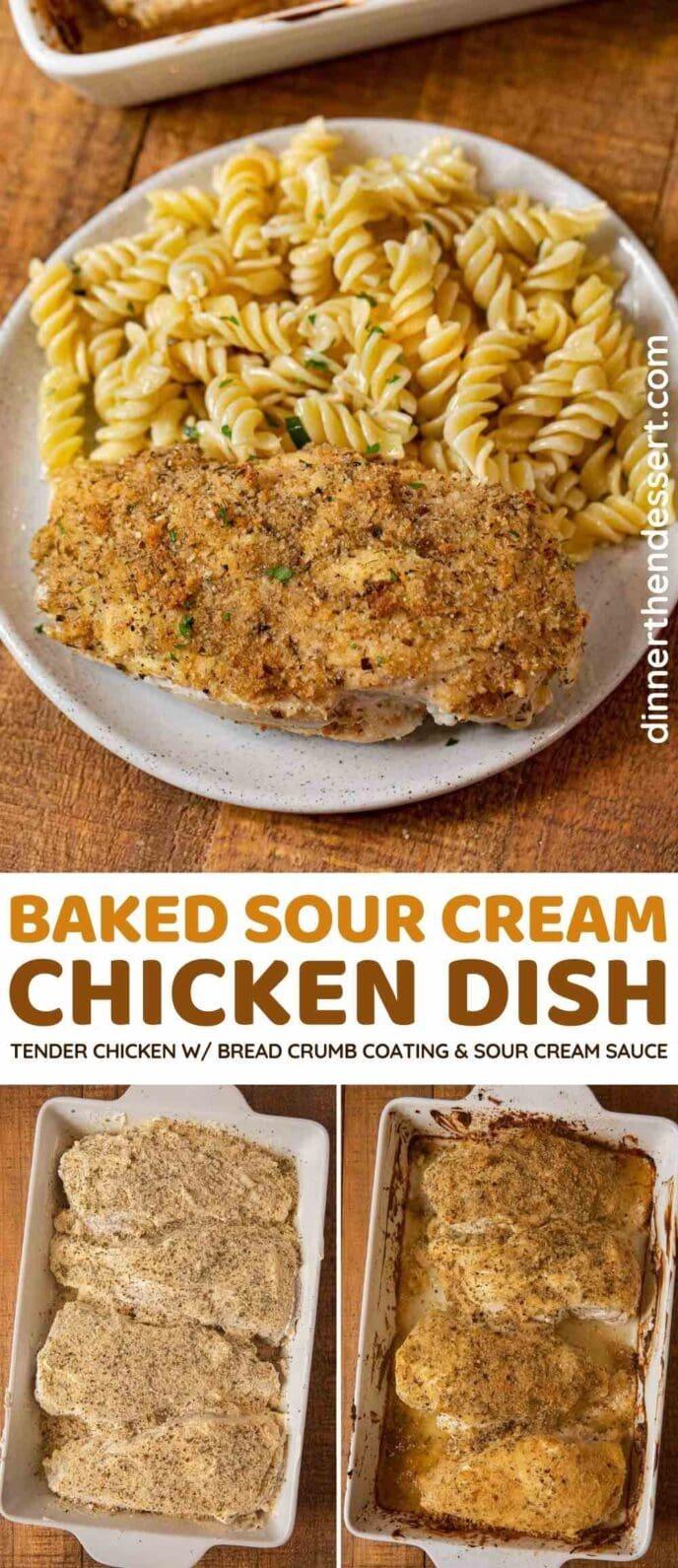 Sour Cream Baked Chicken