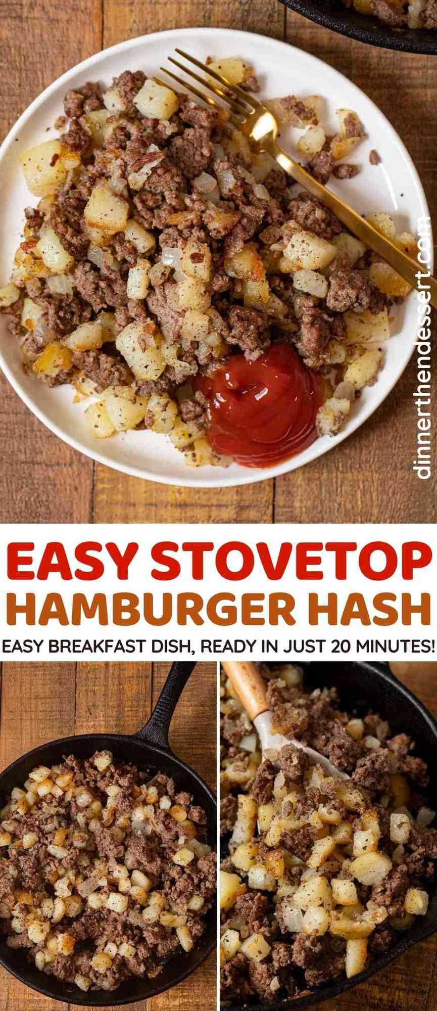 Hamburger Hash collage