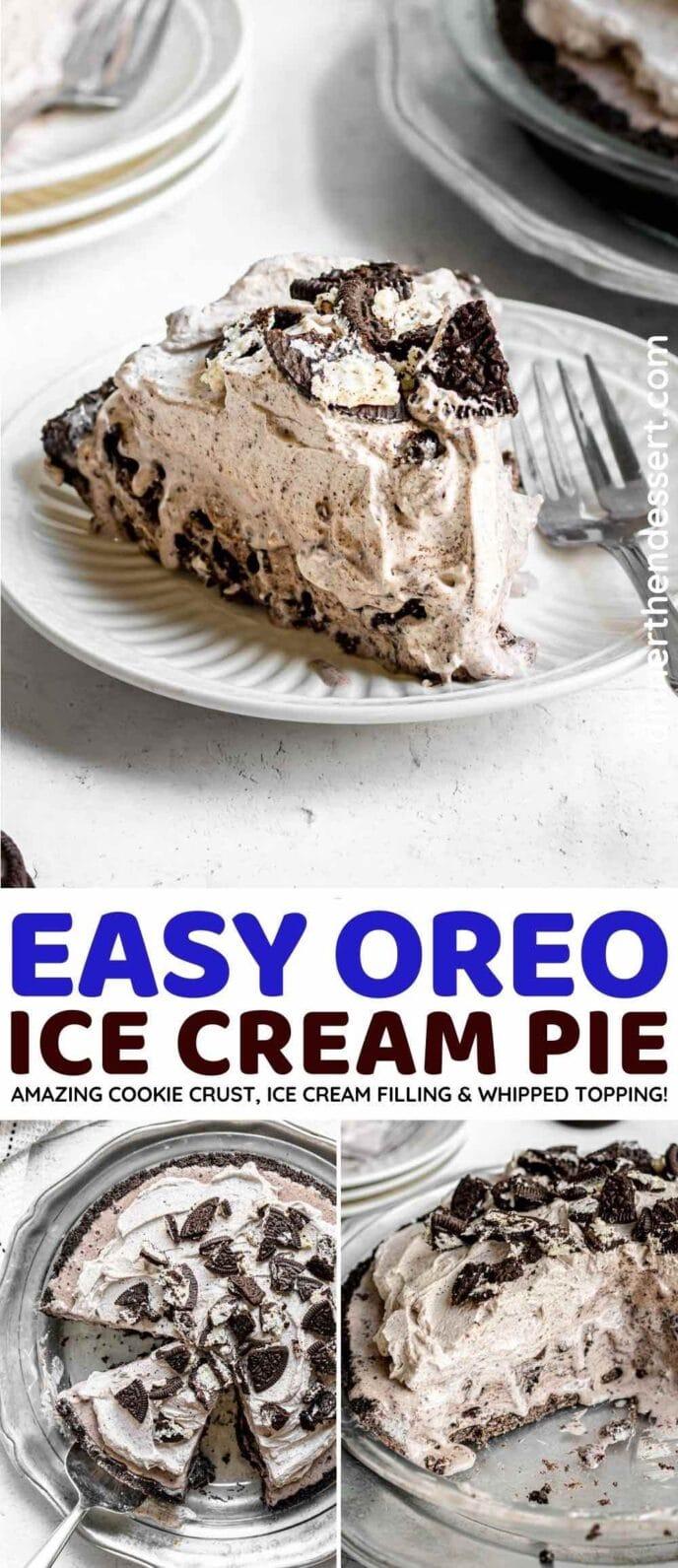 Easy Oreo Ice Cream Pie