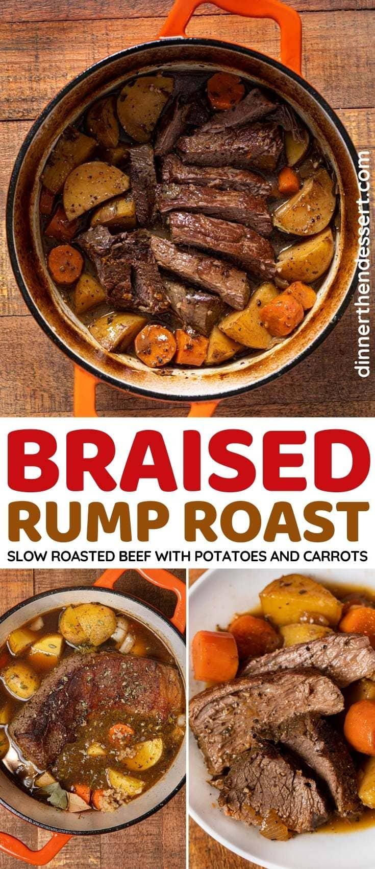 Rump Roast collage