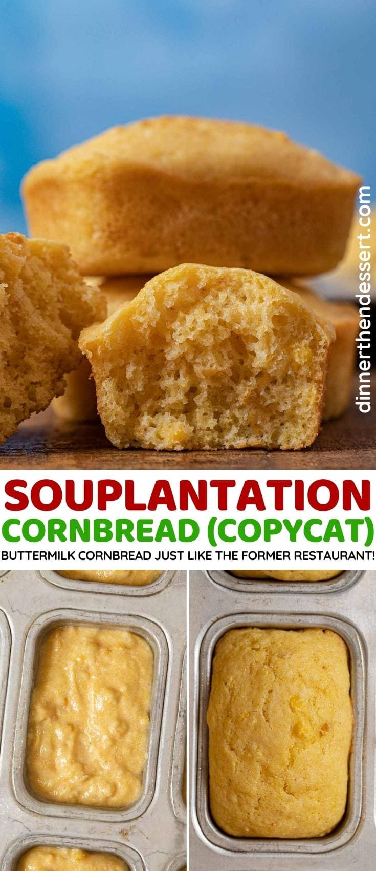 Souplantation Cornbread collage
