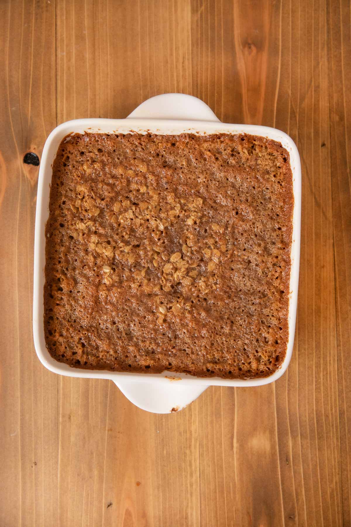 Baked Oatmeal in baking dish