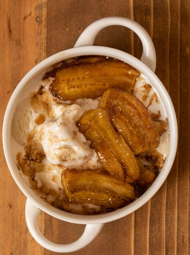 Bananas Foster in bowl
