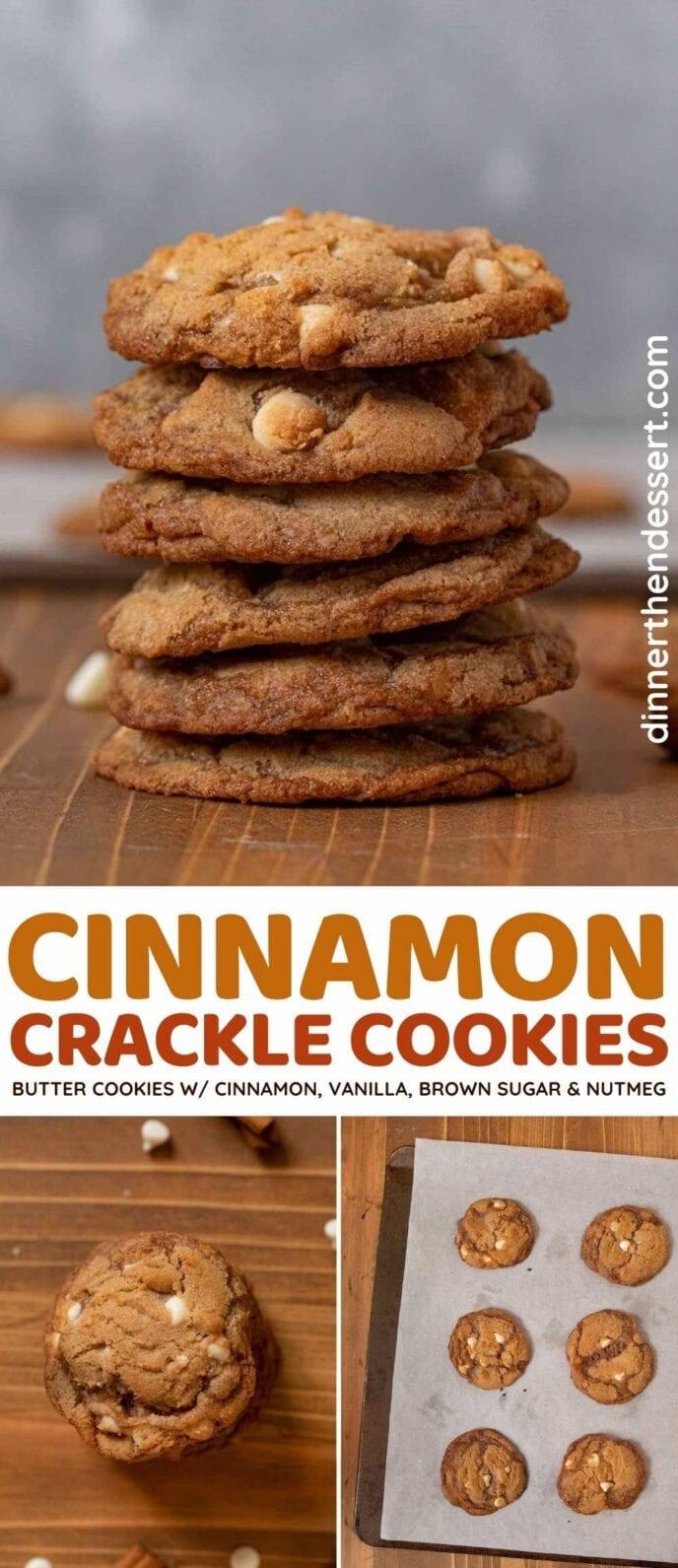 Cinnamon Crackle Cookie recipe