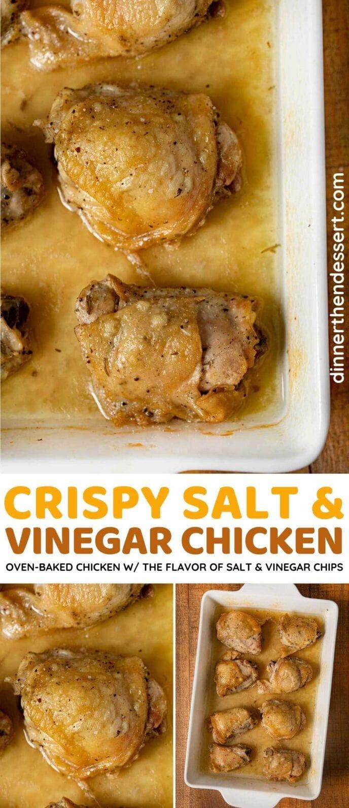 Salt and Vinegar Chicken collage