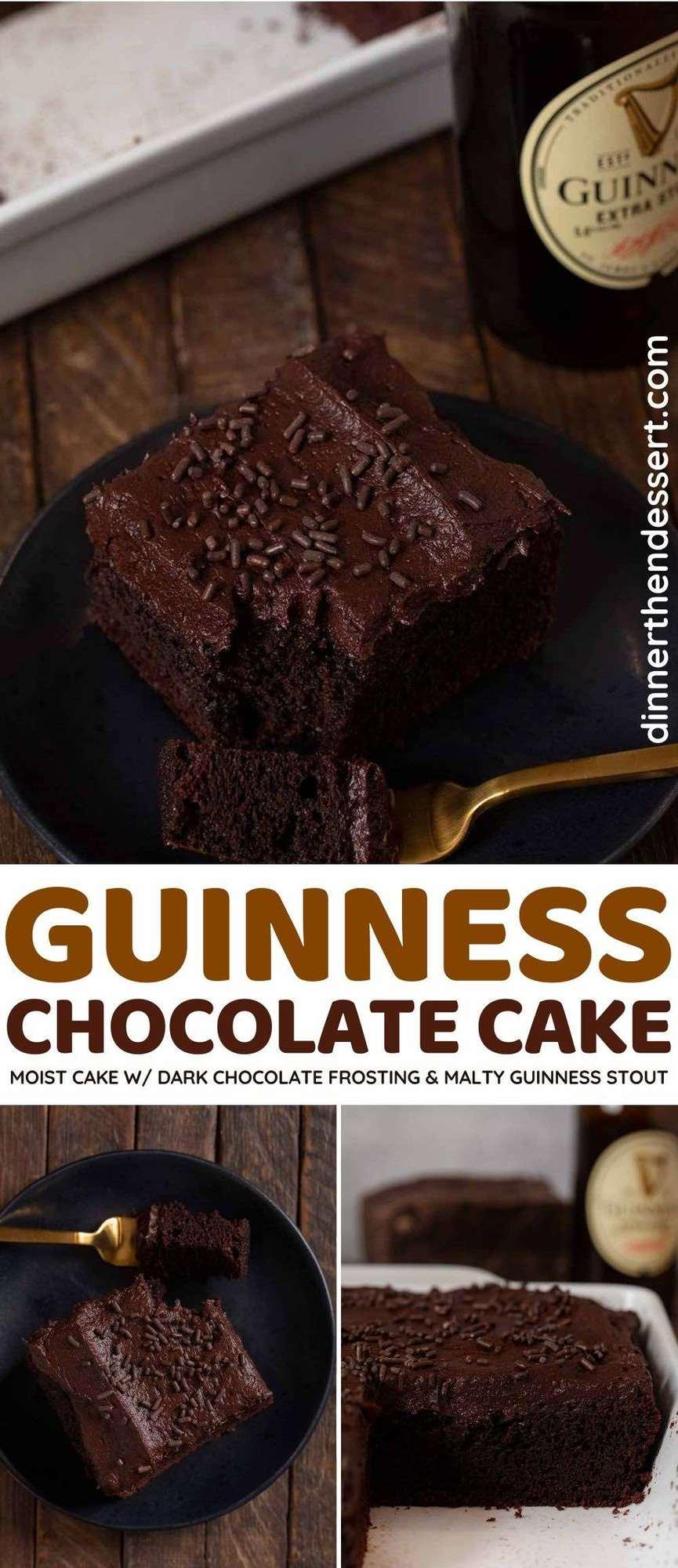 Moist Guinness Chocolate Cake
