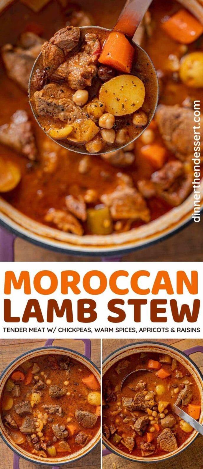 Marokkanischer Lammeintopf