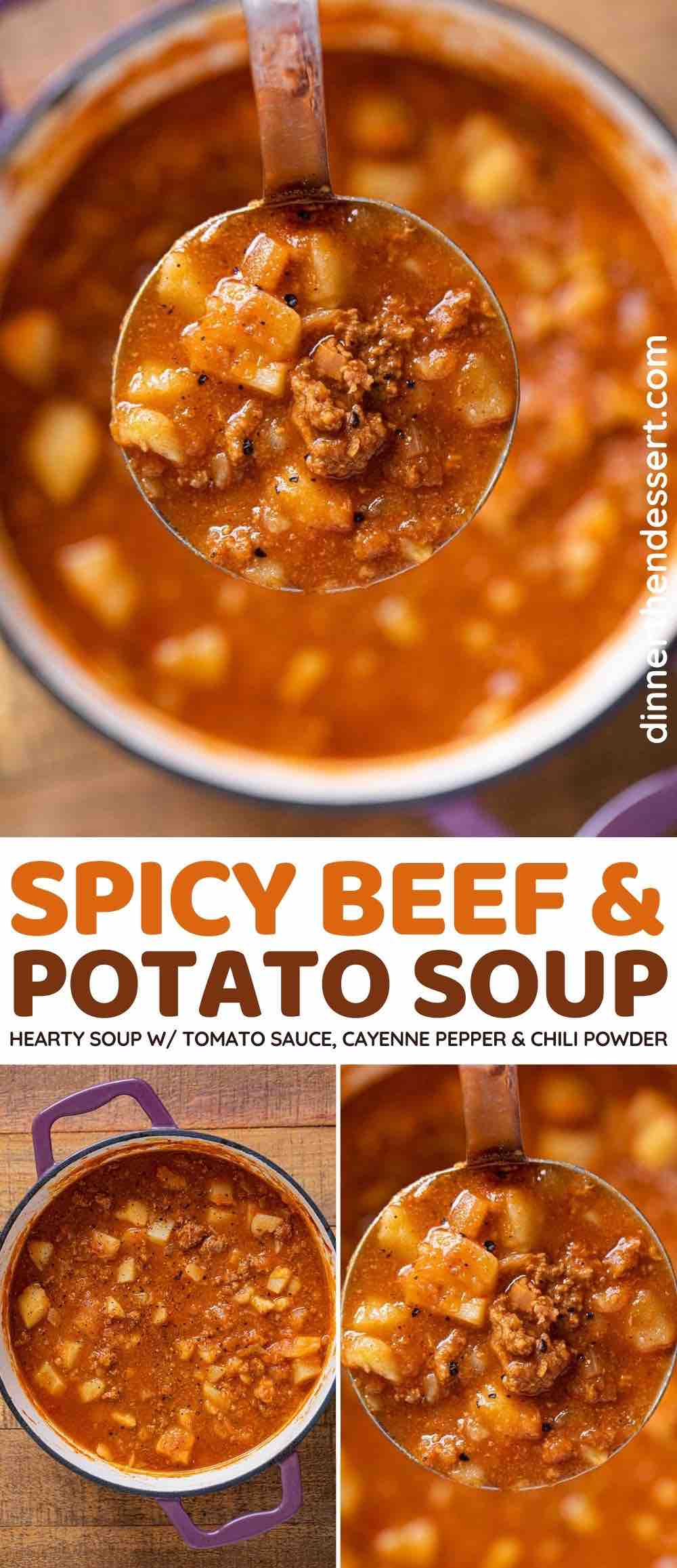 flavorful beef and potato soup