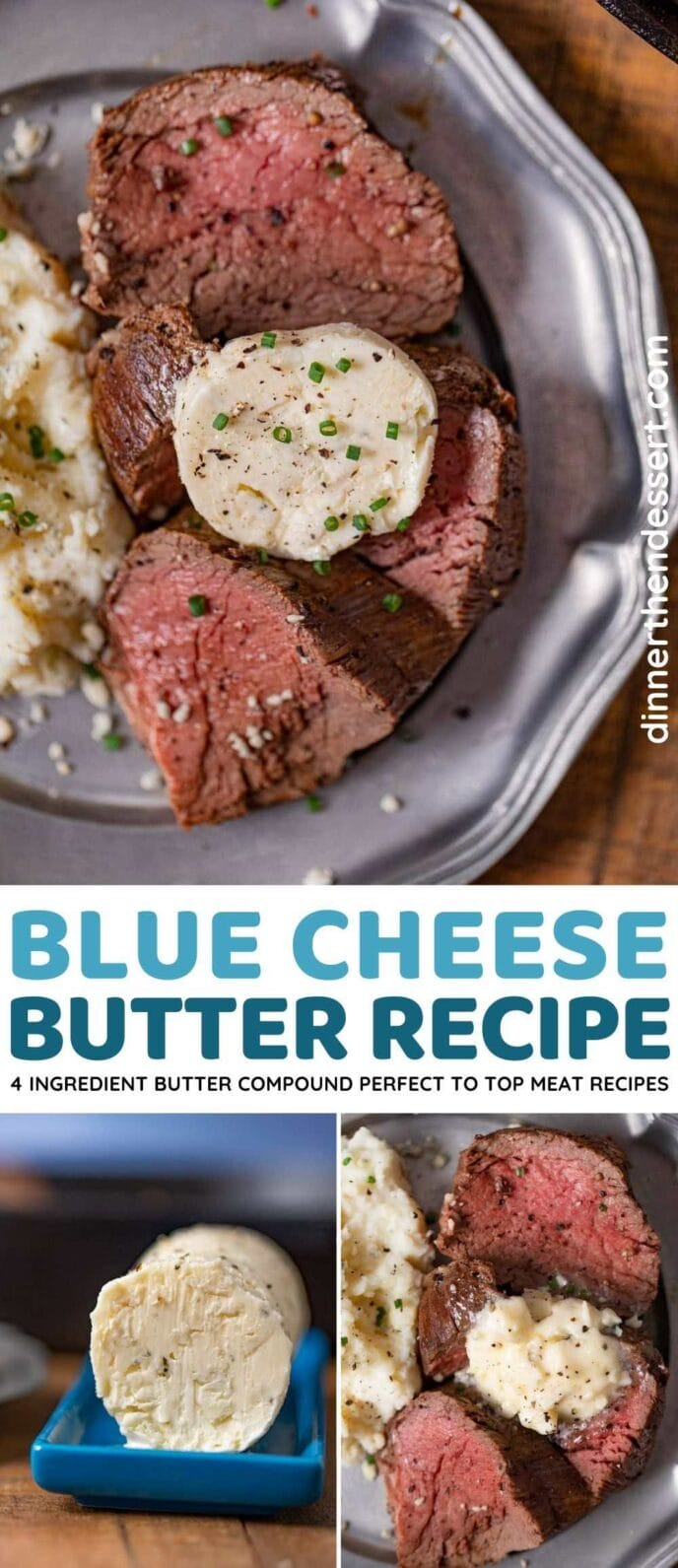 Blue Cheese Butter collage