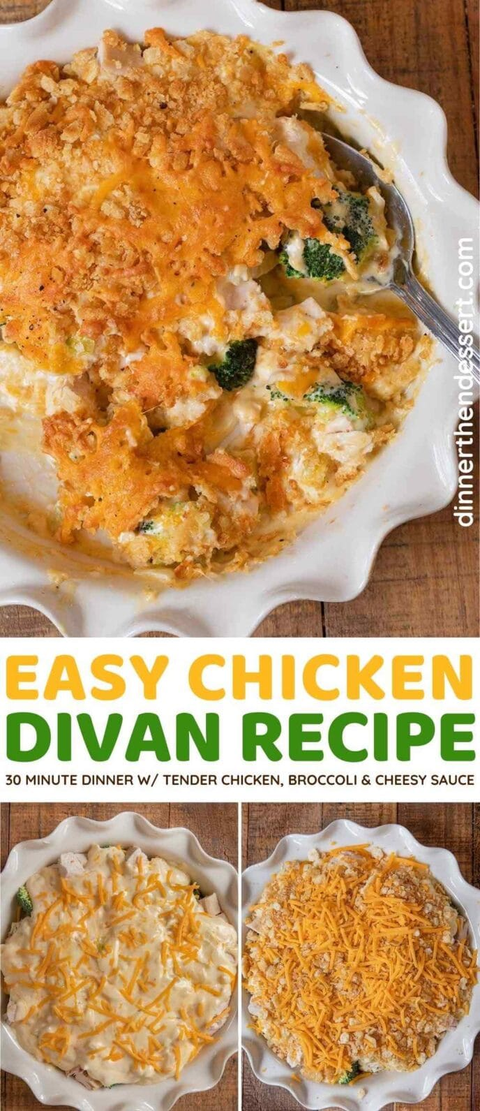 Easy Chicken Divan