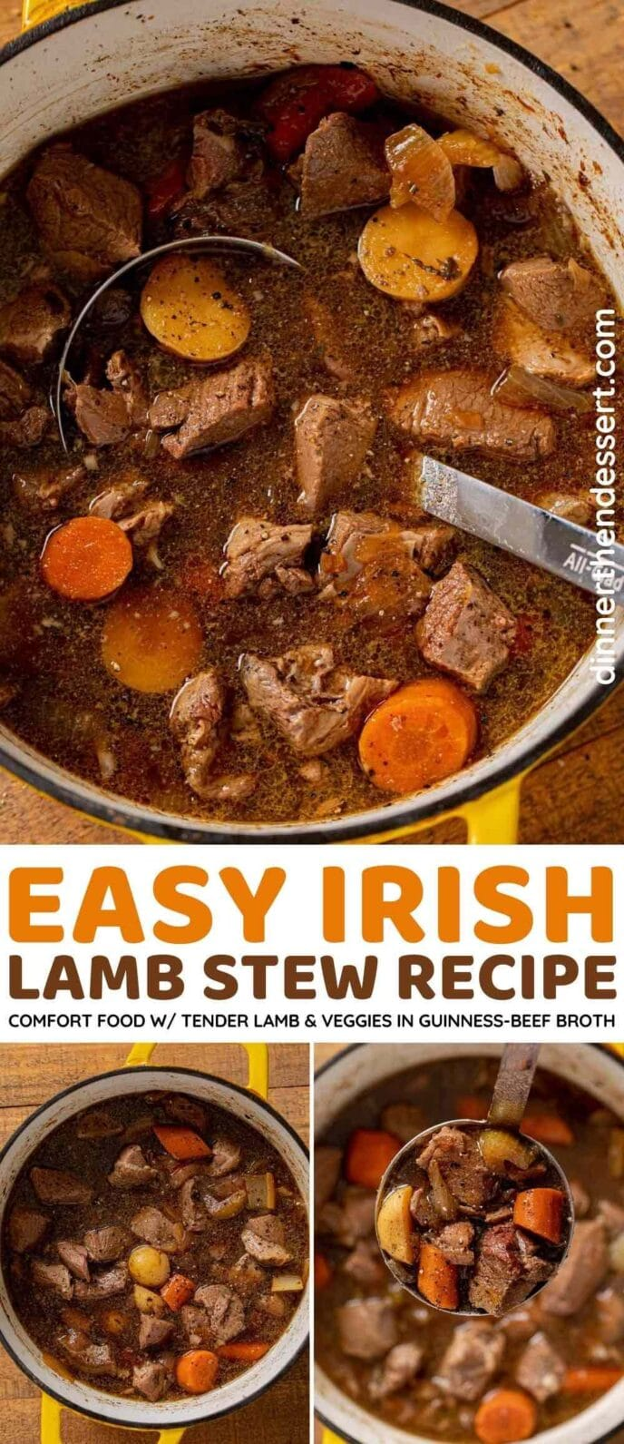 Easy Irish Lamb Stew