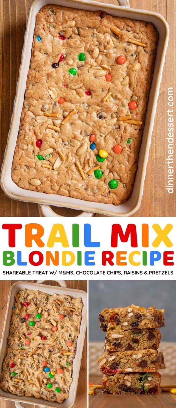 Trail Mix Blondies