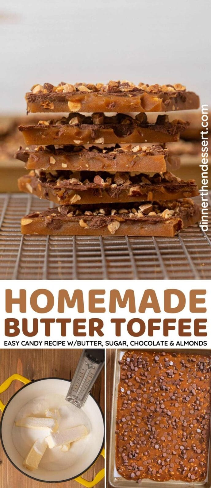 Butter Toffee Collage