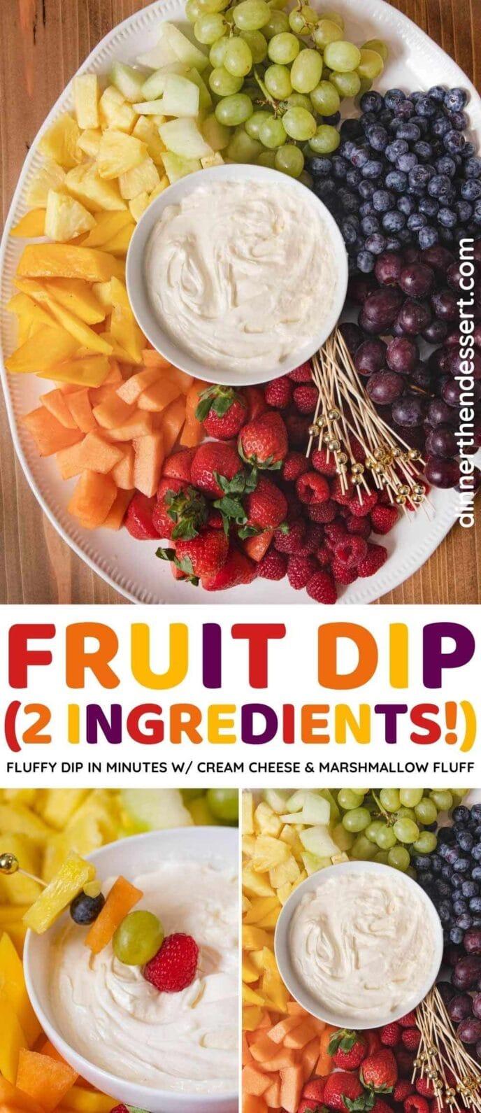 2-ingredient Fruit Dip