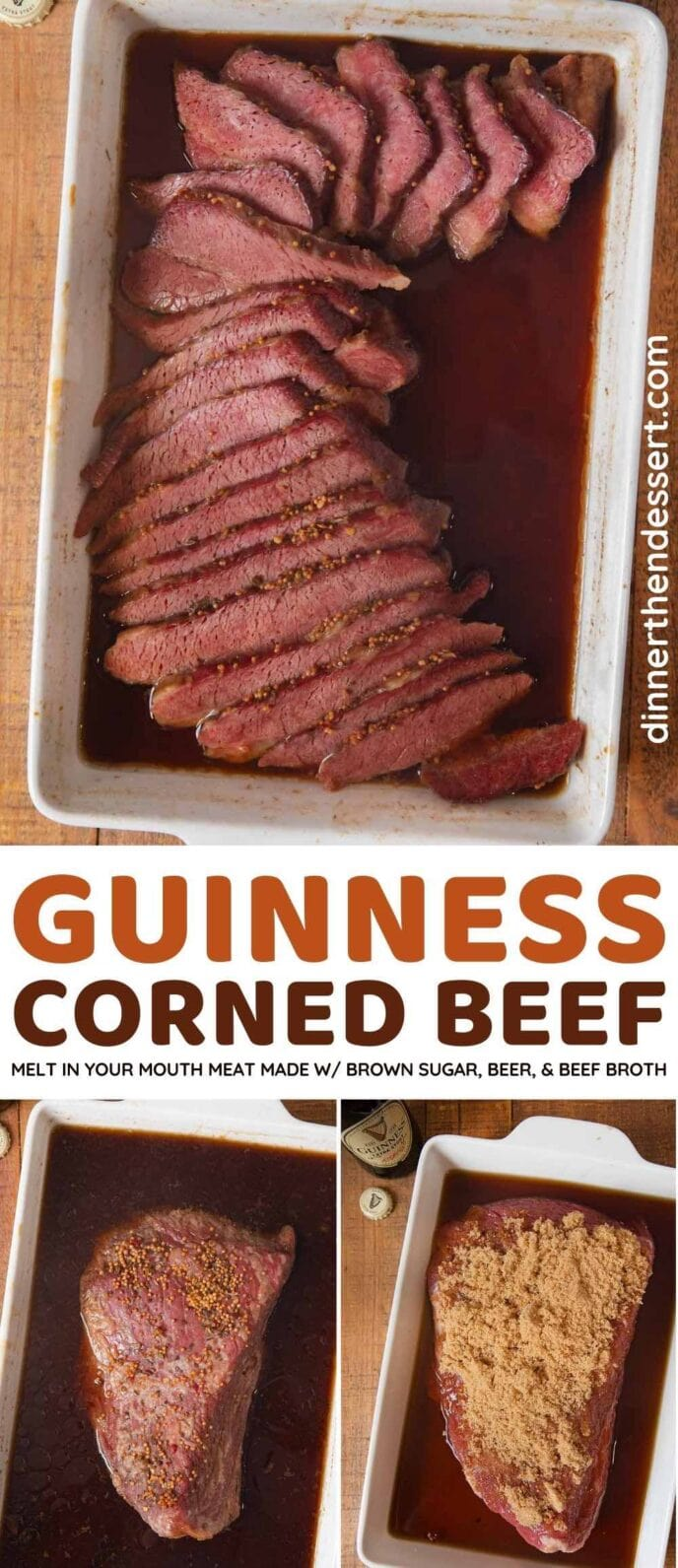 Guinness Corned Beef collage