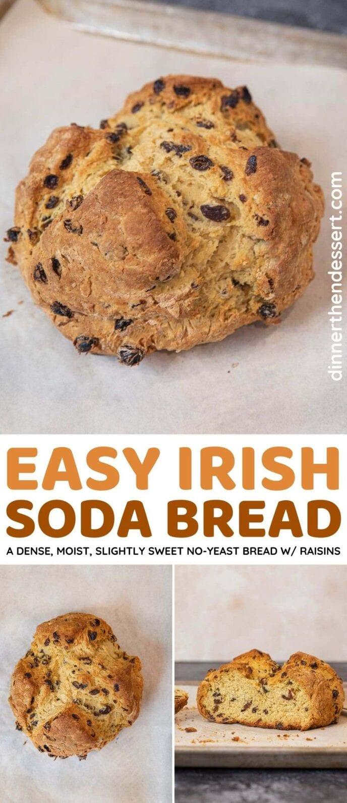 Irish Soda Bread collage