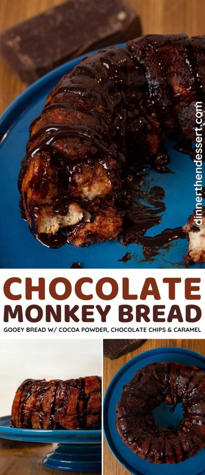Chocolate Monkey Bread collage