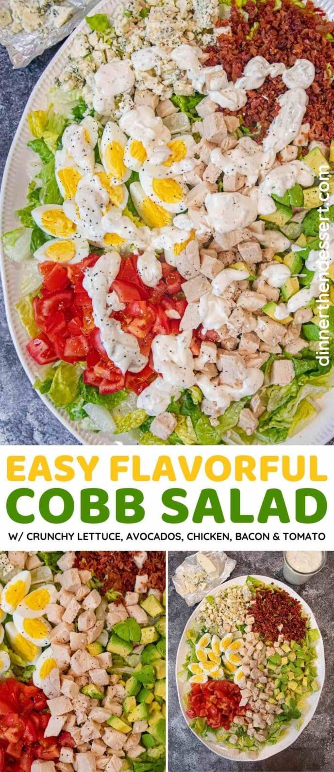 Cobb Salad collage
