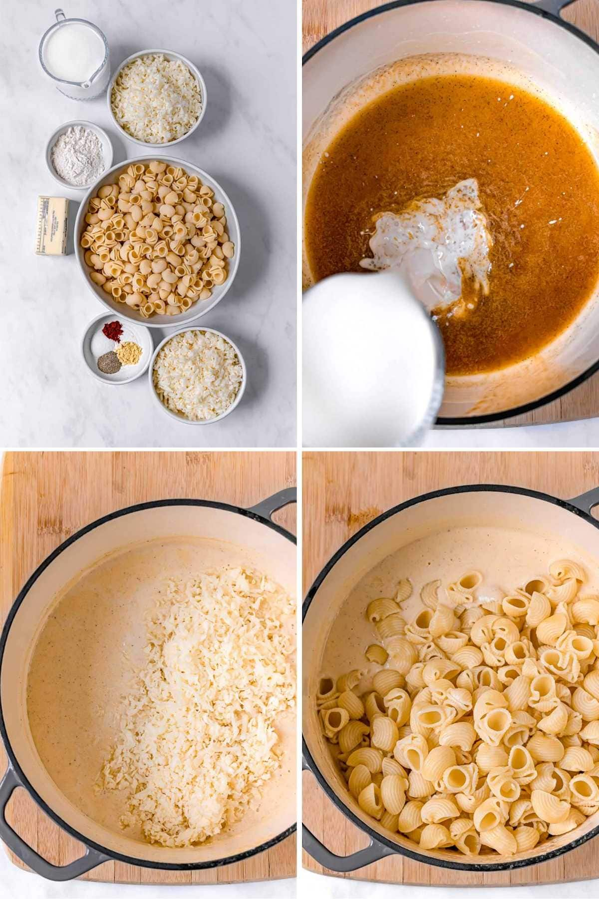 White Cheddar Mac & Cheese in bowl