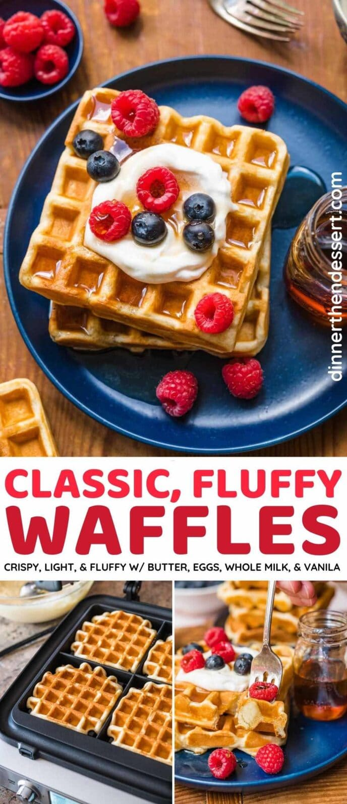 Classic Waffles collage